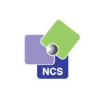 NCS Logo on White