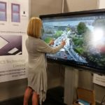 Clevertouch Pro screen at Construction expo 2016