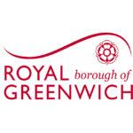 LED Lighting Installation at Eltham Crematorium Royal Greenwich logo